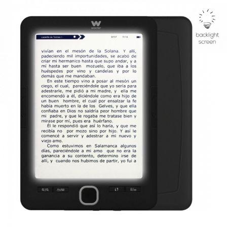 Libro electrónico Ebook Woxter Scriba 195 Paperlight Black/ 6\