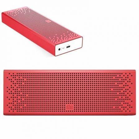 ALTAVOZ BLUETOOTH XIAOMI MI SPEAKER RED - 2X3W - DRIVERS 36MM - FUNC. MANOS LIBRES - BAT. 1500MAH