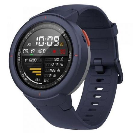 cafab5b71 RELOJ INTELIGENTE XIAOMI AMAZFIT VERGÉ AZUL - PANTALLA 3.3CM - BT - WIFI -  SENSOR FRECUENCIA CARDIACA - GPS - RESPONDER LLAMADAS - IP68 - BAT. 390MAH
