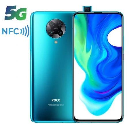 "SMARTPHONE MÓVIL XIAOMI POCOPHONE F2 PRO AZUL NEÓN - 6.67""/16.94CM - SNAPDRAGON 865 - 6GB RAM - 128GB - CAM (64+13+5+2)/20MP - 5G - 4700MAH"