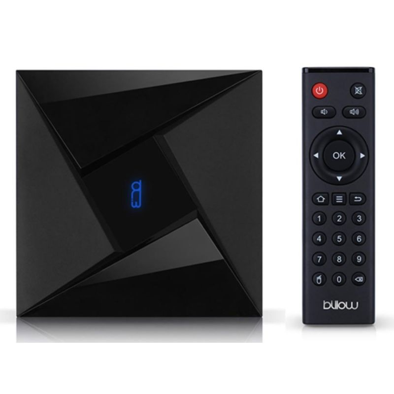 Android tv billow md10pro - 4k - oc 2ghz - 3gb ddr3 - 32gb - Depau